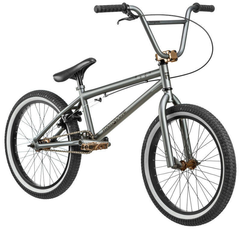 BOYS BIKE (GREY METALLIC)