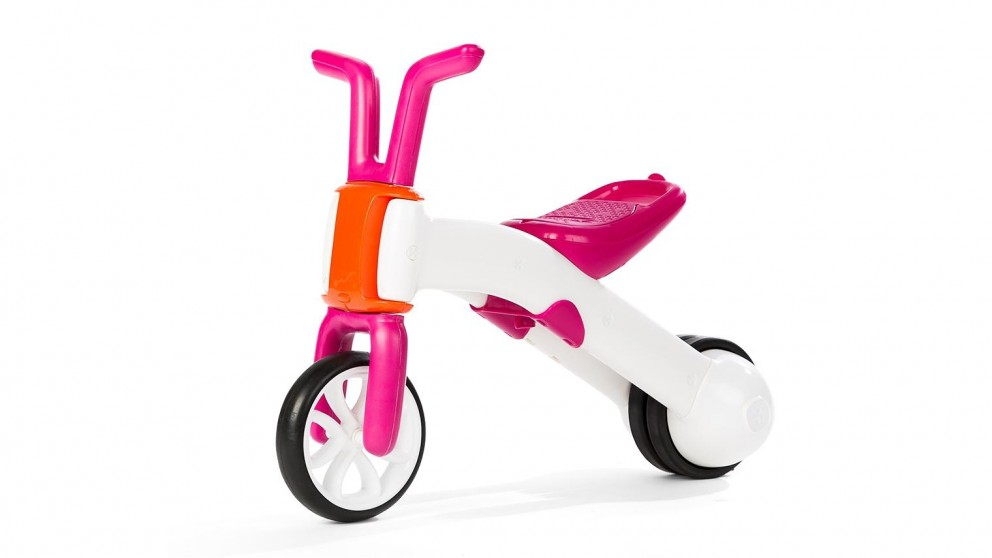 KIDS BIKE (PINK & WHITE)