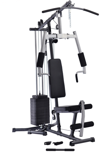 Multi-station Home Gym with weights